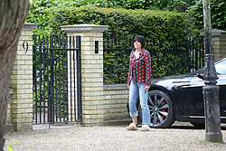 EXCLUSIVE: Sadie Frost heads to ex-husband Jude Law's house to congratulate him after it was revealed the actor was set to become a father for the sixth time with wife Phillipa, 32. 23 May 2020 Pictured: Sadie Frost. Photo credit: MEGA TheMegaAgency.com +1 888 505 6342