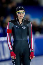 10-12-2016 NED: ISU World Cup Speed Skating, Heerenveen<br /> 1500 m women / Isabelle Weidemann CAN