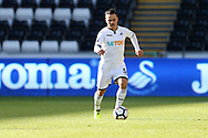 Roque Mesa of Swansea city in action.Swansea city v Sampdoria , pre-season friendly at the Liberty Stadium in Swansea, South Wales on Saturday August 5th 2017.<br /> pic by Andrew Orchard, Andrew Orchard sports photography.