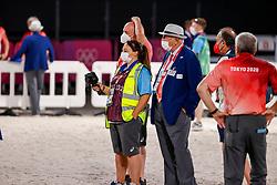 MARLIN Dr. David (GBR), REYNOLDS Helen (GBR),<br /> Olympic Games Tokyo 2021<br /> © Hippo Foto - Stefan Lafrentz<br /> 27/07/2021