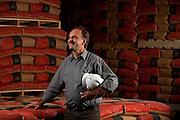 Barroso_MG, Brasil...Claudio Butkos, gerente da fabrica  Holcim de Barroso...Claudio Butko, He is the manager of the Holcim in Barroso...Foto: LEO DRUMOND / NITRO