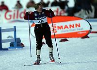 "Ski , 12 mars 2006 ,  "" Warsteiner FIS World Cup Nordic Combined , Holmenkollen  ,   LH Hurricane Sprint<br /> <br /> Todd Lodwick , USA"