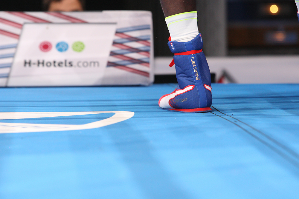 Boxen: AIBA Box-WM, Day 7, Hamburg, 28.08.2017<br /> 81 Kg: Julio La Cruz (CUB)<br /> © Torsten Helmke