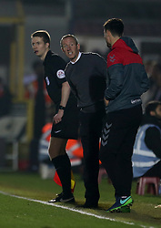 Charlton Athletic caretaker manager Lee Bowyer on the touchline