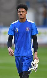 Carlisle United goalkeeper Shamal George