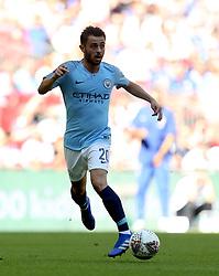 Manchester City's Bernardo Silva in action