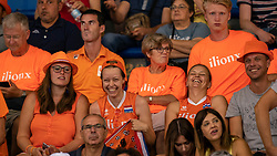 03-08-2019 ITA: FIVB Tokyo Volleyball Qualification 2019 / Netherlands, - Kenya Catania<br /> 3rd match pool F in hall Pala Catania between Netherlands - Kenya. Netherlands win 3-0 / Orange support