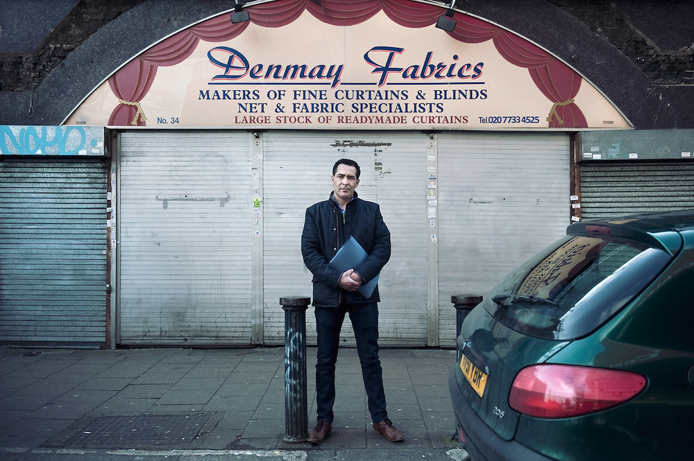 Denmay Fabrics.<br /> 34 Brixton Station Road.<br /> <br /> Malek Menad company director of Denmay Interiors 34 Brixton Station road. The business was established in 1948 and he took over 18 years ago. If the proposed evictions happen 10 persons will lose their jobs.