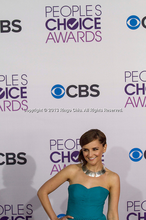 Rachael Leigh Cook arrives at the 39th Annual People's Choice Awards at Nokia Theatre L.A. Live on Wednesday January 9, 2013 in Los Angeles, California, United States. (Photo by Ringo Chiu/PHOTOFORMULA.com)