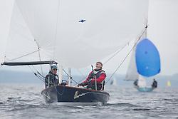 Caledonia MacBrayne Largs Regatta Week 2016<br /> <br /> Biggles, FLYING DUTCHMAN, GBR310, LSC, Chris Nichol, Dawn MacRae<br /> <br /> Credit Marc Turner / PFM Pictures.co.uk
