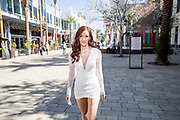 Young trendy woman in Las Vegas, Nevada