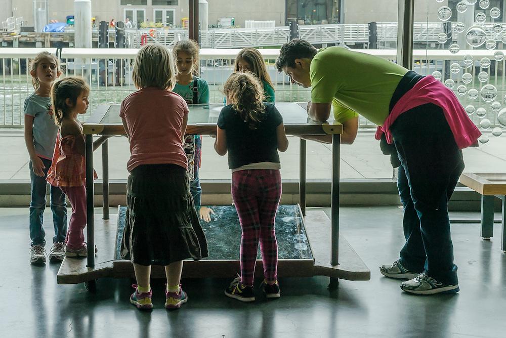 at the San Francisco Exploratorium