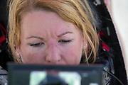 Aniek Rooderkerken zit in de VeloX. In Battle Mountain, Nevada, oefent het team op een weggetje. Het Human Power Team Delft en Amsterdam, dat bestaat uit studenten van de TU Delft en de VU Amsterdam, is in Amerika om tijdens de World Human Powered Speed Challenge in Nevada een poging te doen het wereldrecord snelfietsen voor vrouwen te verbreken met de VeloX 7, een gestroomlijnde ligfiets. Het record is met 121,44 km/h sinds 2009 in handen van de Francaise Barbara Buatois. De Canadees Todd Reichert is de snelste man met 144,17 km/h sinds 2016.<br /> <br /> With the VeloX 7, a special recumbent bike, the Human Power Team Delft and Amsterdam, consisting of students of the TU Delft and the VU Amsterdam, wants to set a new woman's world record cycling in September at the World Human Powered Speed Challenge in Nevada. The current speed record is 121,44 km/h, set in 2009 by Barbara Buatois. The fastest man is Todd Reichert with 144,17 km/h.