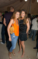 Left to right, FRANCESCA VERSACE and SOPHIE MEAD-BRIGGS at the Tatler Summer Party 2006 in association with Fendi held at Home House, Portman Square, London W1 on 29th June 2006.<br /><br />NON EXCLUSIVE - WORLD RIGHTS