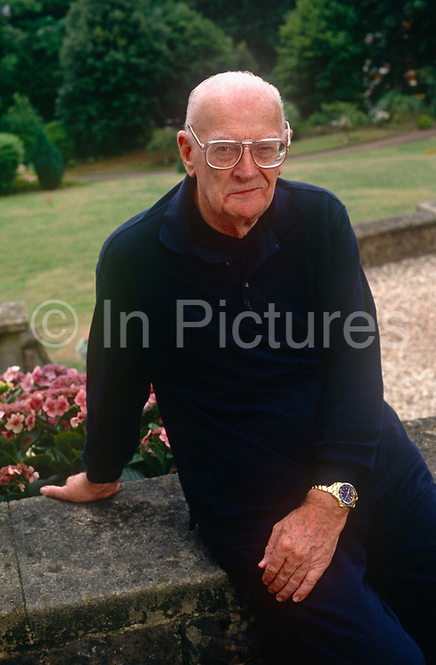 A portrait of Science-fiction writer Arthur C Clarke in the summer of 1992, at his home in Minehead, England. Sir Arthur Charles Clarke, CBE, FRAS 1917– 2008 was a British science fiction writer, science writer and futurist, inventor, undersea explorer, and television series host. He is perhaps most famous for being co-writer of the screenplay for the movie 2001: A Space Odyssey, widely considered to be one of the most influential films of all time.