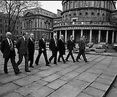 1975 - Newly Elected,Enda Kenny At Leinster House. (J89).