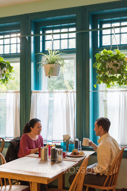 """The Early Girl Eatery is a self-described """"farm to table southern comfort food experience."""" It is located at 8 Wall Street in Downtown Asheville, North Carolina."""