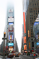 Times Square New York early evening<br />