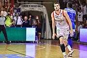 DESCRIZIONE : Campionato 2014/15 Serie A Beko Grissin Bon Reggio Emilia -  Dinamo Banco di Sardegna Sassar Finale Playoff Gara1<br /> GIOCATORE : Ojars Silins<br /> CATEGORIA : Ritratto Esultanza<br /> SQUADRA : Grissin Bon Reggio Emilia<br /> EVENTO : LegaBasket Serie A Beko 2014/2015<br /> GARA : Grissin Bon Reggio Emilia - Dinamo Banco di Sardegna Sassari Finale Playoff Gara1<br /> DATA : 14/06/2015<br /> SPORT : Pallacanestro <br /> AUTORE : Agenzia Ciamillo-Castoria/GiulioCiamillo