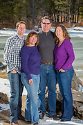 Family Portrait. Summit County, Colorado