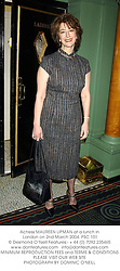 Actress MAUREEN LIPMAN at a lunch in London on 2nd March 2004.PSC 101