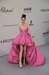 May 23, 2019 - Cannes, France - Cap d'Antibes, Red Carpet for the 26th amfAR Gala Cannes. .Pictured: Coco Rocha (Credit Image: © Alberto Terenghi/IPA via ZUMA Press)