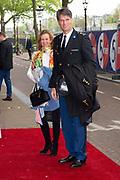 Bevrijdingsconcert - 5 mei-concert op de Amstel, Amsterdam. // Liberation Concert - 5 May concert on the Amstel<br /> <br /> Op de foto:  Erik Akerboom , Hoofdcommissaris van Politie in Nederland en partner
