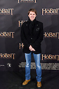 "Manuel Velasco attends  ""The Hobbit: An Unexpected Journey"" premiere at the Callao cinema- Madrid."