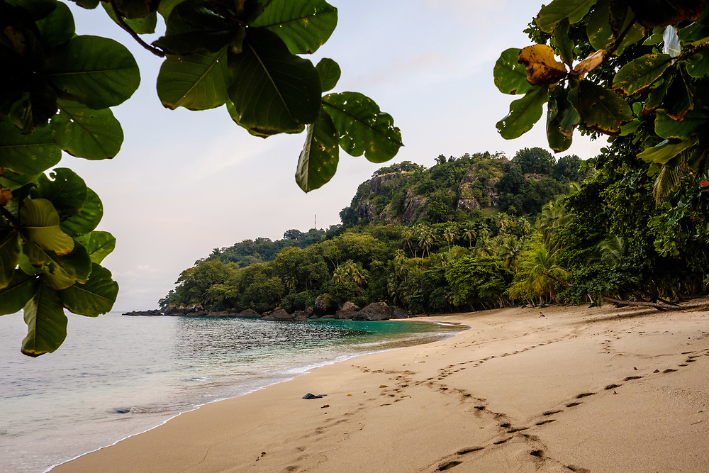 Banana beach. This beach became very famous because Baccardi filmed an advertising in this location.