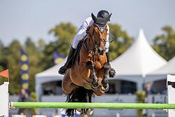 Been Remco, NED, Granny Smith Apple<br /> Nederlands Kampioenschap Springen<br /> De Peelbergen - Kronenberg 2020<br /> © Hippo Foto - Dirk Caremans<br />  06/08/2020