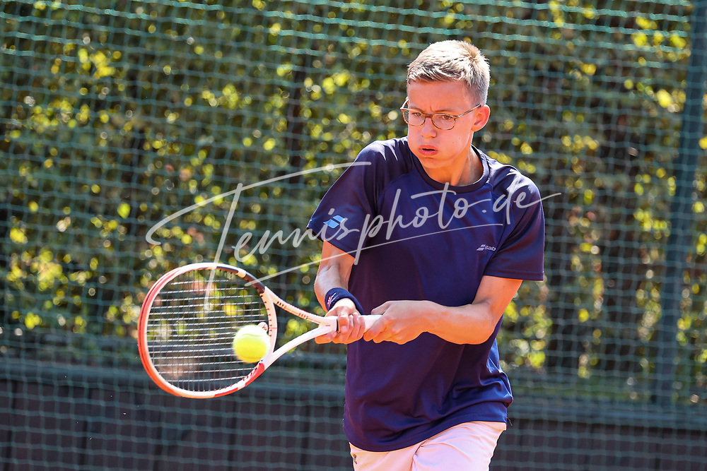 Bruno Kübler (Tennis-Club SCC Berlin), Blau-Weiss Young Generation Trophy, Berlin, TC 1899 Blau-Weiss, 08.08.2020, Foto: Claudio Gärtner
