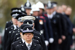 © licensed to London News Pictures. Stafford, UK  17/03/2012. The funeral of PC David Rathband. Photo credit should read Joel Goodman/LNP
