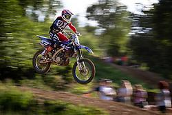 Jakša Denis during Slovenian Championship in Motocross, on June 2nd, 2019 in Orehova Vas, Slovenia. Photo by Blaž Weindorfer / Sportida
