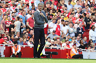 Arsenal manager Arsene Wenger during the Premier League match between Arsenal and West Ham United at the Emirates Stadium, London, England on 22 April 2018. Picture by Bennett Dean.