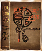 """IN THE FORBIDDEN LAND - Henry Savage Landor - William Heinemann, London, 1899, 1st single volume edn., of this work, original richly decorated binding with gilt titles, one fep missing, fold out map in rear, 250 B&W illustrations & B&W reproductions of paintings - """"an account of a journey in Tibet, capture by Tibetan authorities, imprisonment, torture and ultimate release"""" - some consider Landor an upper class twit who treated his local staff badly. $250"""