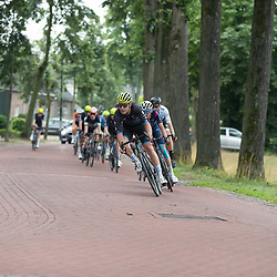 VELDHOVEN (NED) July 4 <br /> CYCLING <br /> The first race of the Schwalbe Topcompetition the Simac Omloop der Kempen<br /> Ramon van Bokhoven leidt de kopgroep