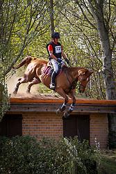 Everaert Rob, BEL, Etamoro van de Zelm<br /> Nationale LRV-Eventingkampioenschap Minderhout 2017<br /> © Hippo Foto - Kris Van Steen<br /> 30/04/17