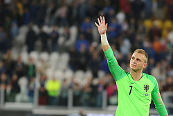 June 4, 2018 - Turin, Piedmont, Italy - Jasper Cillessen (Holland) greets the fans after the friendly football match between Italy and Holland at Allianz Stadium on June 04, 2018 in Turin, Italy. Final result: 1-1  (Credit Image: © Massimiliano Ferraro/NurPhoto via ZUMA Press)