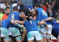 November 24, 2018 - Rome, Italy - Italy v New Zealand All Blacks - Rugby Cattolica Test Match.New Zealands Patrick Tuipulotu at Olimpico Stadium in Rome, Italy on November 24, 2018. (Credit Image: © Matteo Ciambelli/NurPhoto via ZUMA Press)