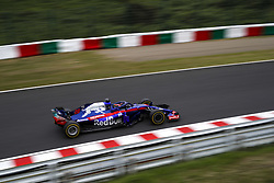 October 5, 2018 - Suzuka, Japan - Motorsports: FIA Formula One World Championship 2018, Grand Prix of Japan, .World Championship 2018 Grand Prix Japan , #28 Brendon Hartley (NZL Toro Rosso, Ferrari) (Credit Image: © Hoch Zwei via ZUMA Wire)