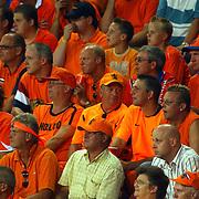 NLD/Eindhoven/20050907 - WK kwalificatiewedstrijd Nederland - Andorra, oranje, toeschouwers, tribune,