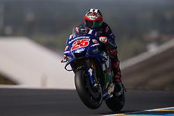 May 18, 2018 - Le Mans, Sarthe, France - MAVERICK VINALES - SPANISH - MOVISTAR YAMAHA MotoGP - YAMAHA (Credit Image: © Panoramic via ZUMA Press)