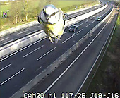 Traffic Camera Captures Speeding Blue Tit on UK Motorway