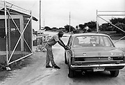 Road Block in uptown Kingston - Jamaica 1978