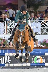 June 9, 2018 - Cannes, France - Jessica Springsteen (USA) - Equipe Miami Celtics - RMF Swinny du Parc (Credit Image: © Panoramic via ZUMA Press)