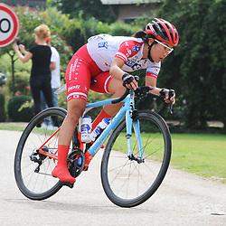 30-08-2017: Wielrennen: Boels Ladies Tour: Arnhem: Eri Yonamine