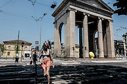 Milan, Porta Ticinese , Piazza XXIV Maggio