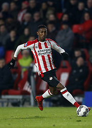 Joshua Brenet of PSV during the Dutch Eredivisie match between PSV Eindhoven and PEC Zwolle at the Phillips stadium on February 03, 2018 in Eindhoven, The Netherlands