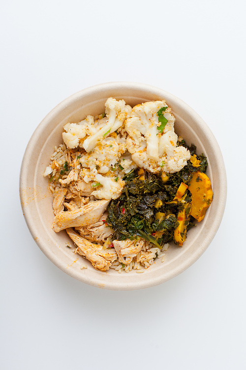 Chicken & Veggies from The Dig Inn<br />  ($10.75)