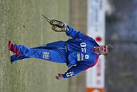 Fotball. 1. divisjon 14. april 2002. Tollnes - Tromsdalen i Skien. Gaute Helstrup, Tromsdalen.<br /> <br /> Foto: Andreas Fadum, Digitalsport.